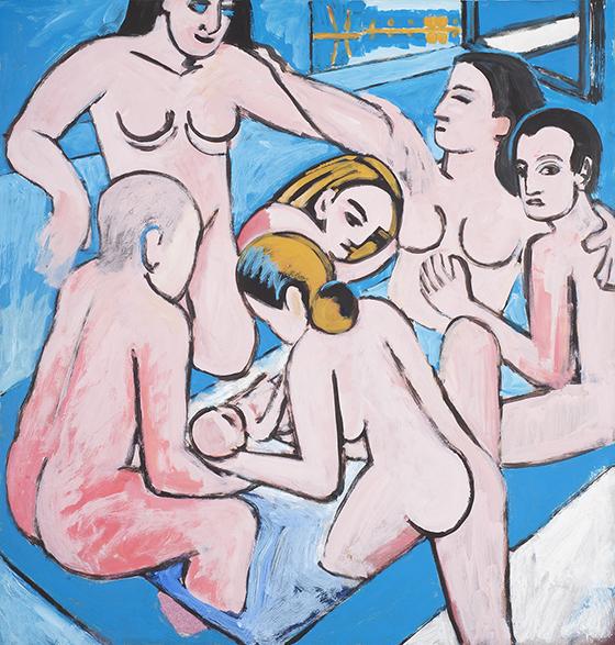 """Manolo Quejido, """"El parto"""", 1978."""