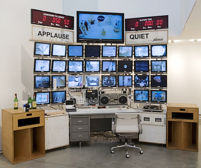 "Tom Sachs, ""Mission Control"", 2007."
