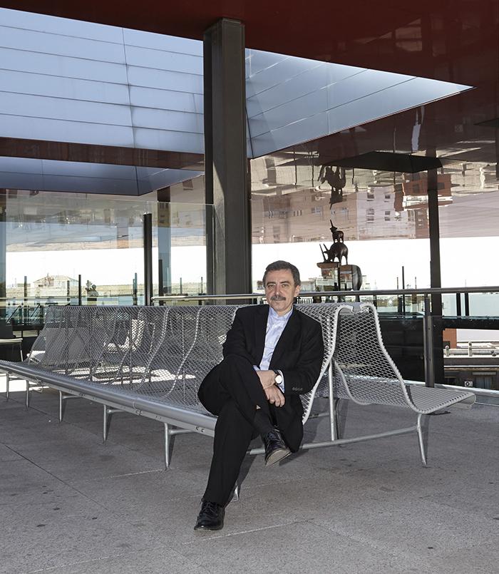 Manuel Borja-Villel, director del MNCARS. Foto: Joaquín Cortés / Román Lores, 2013.
