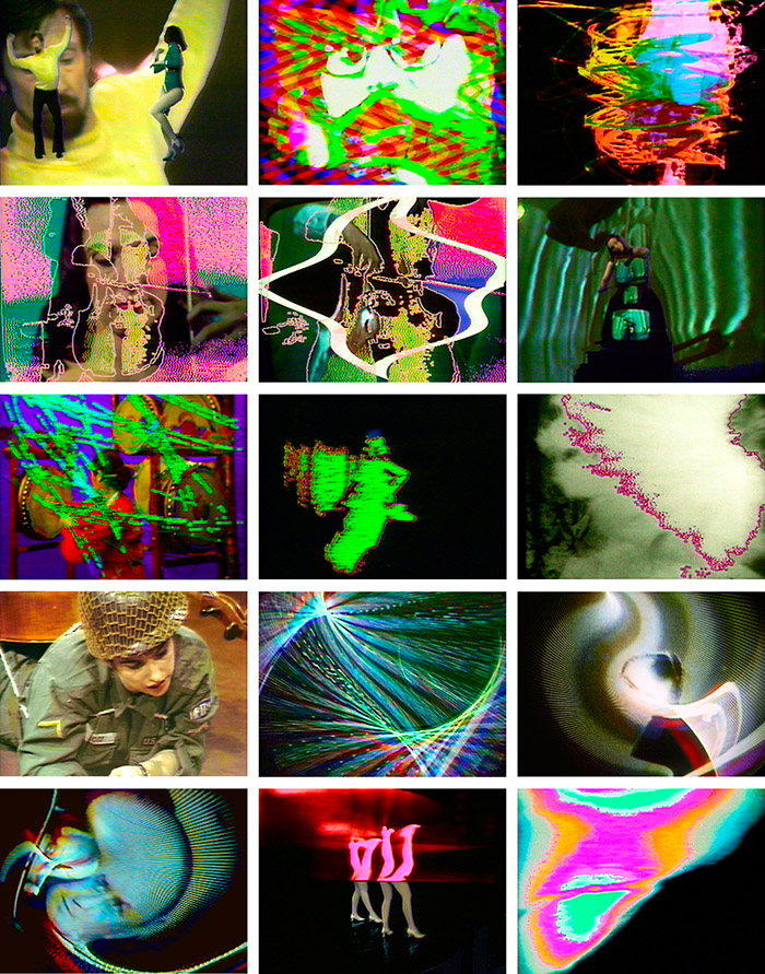 "Nam June Paik, ""Global Groove"", 1973, vídeo."